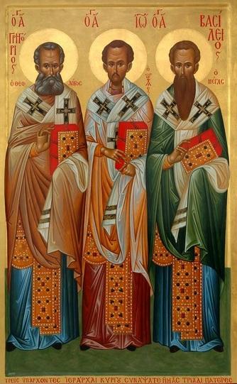 Проповідь в день Собору Вселенських Учителів і Святителів: Василія Великого, Григорія Богослова та Іоана Золотоустого