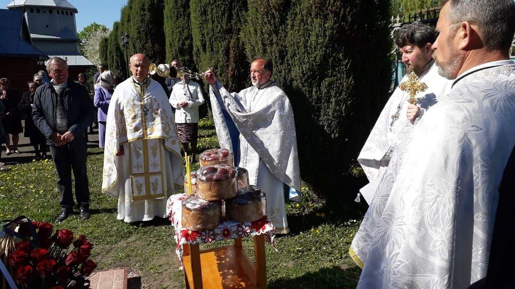 Заупокійне богослужіння за схиархімандритом Піменом (Мензатюком) в першу річницю від дня його упокоєння