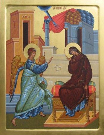 Проповідь на свято Благовіщення Пресвятої Богородиці