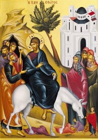 Проповідь на свято Входу Господнього в Єрусалим