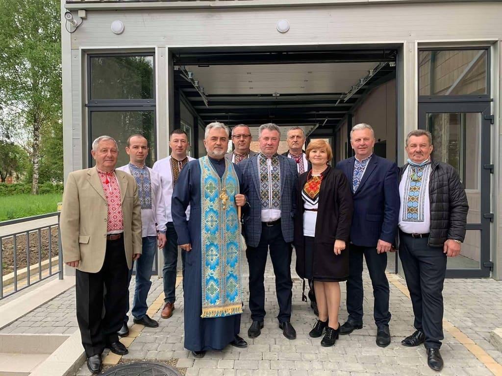 Урочисте відкриття та освячення оновленого відділення Косівської ЦРЛ