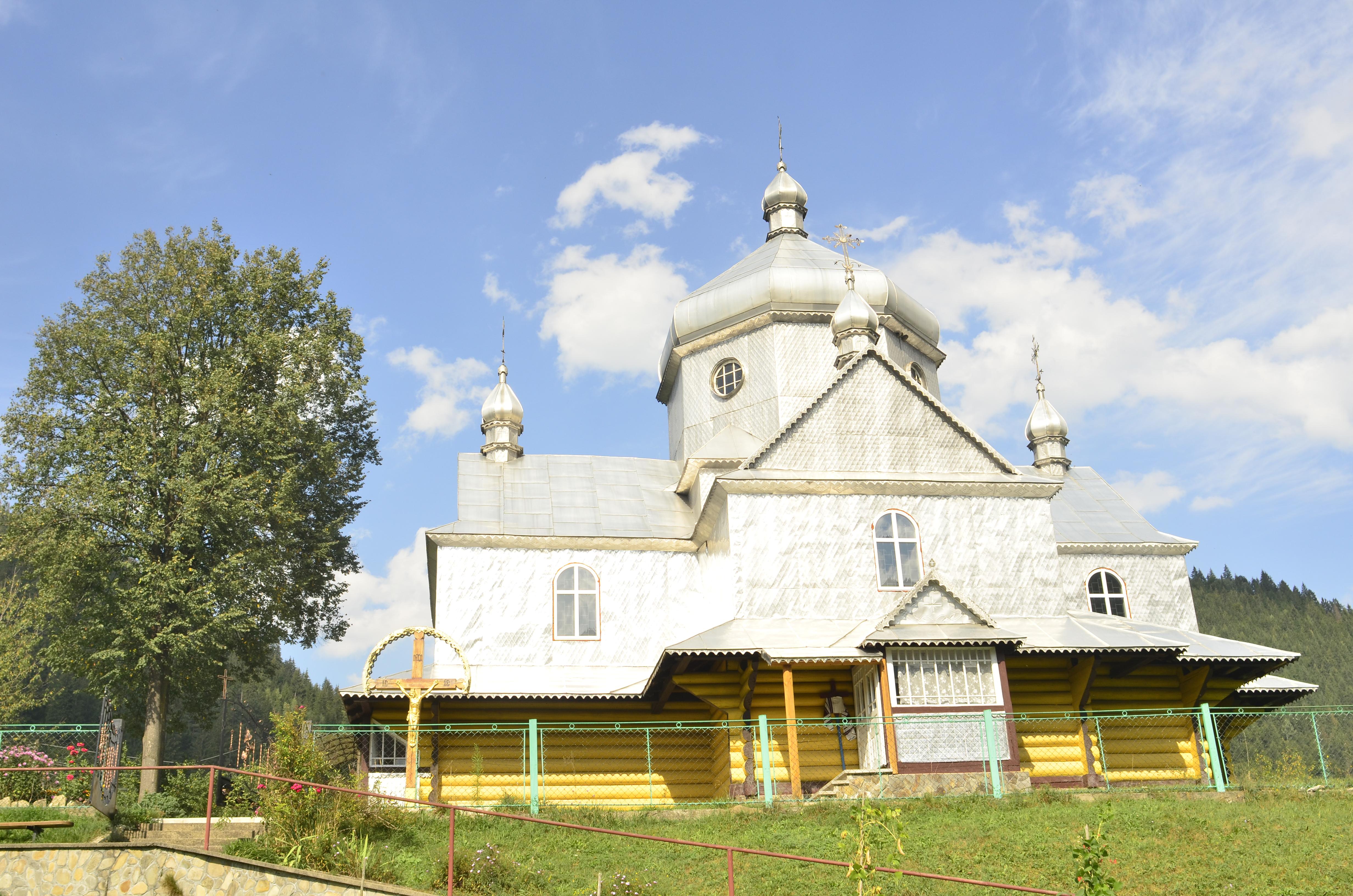 Храм Вознесіння Господнього села Устеріки
