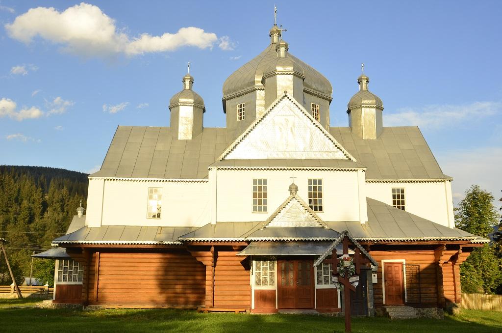 Храм Пророка Іллі села Кривопілля