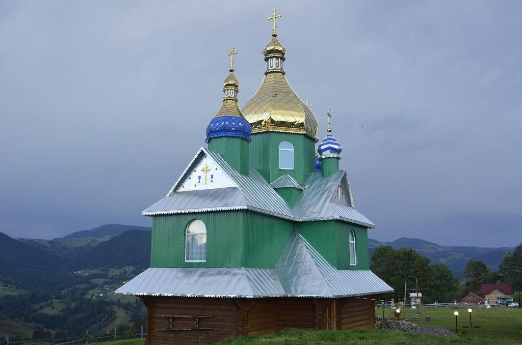 Храм Юрія Переможця села  Голови (присілок Шкирівський)