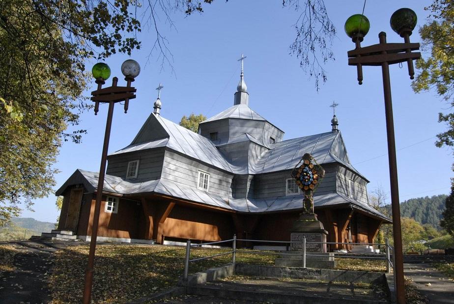 Храм Святого Великомученика Димитрія Солунського села Білі Ослави