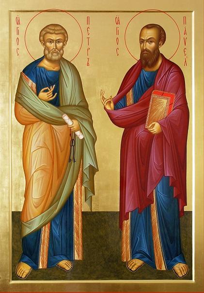 Життя Святих Первоверховних Апостолів Петра і Павла (12 липня)
