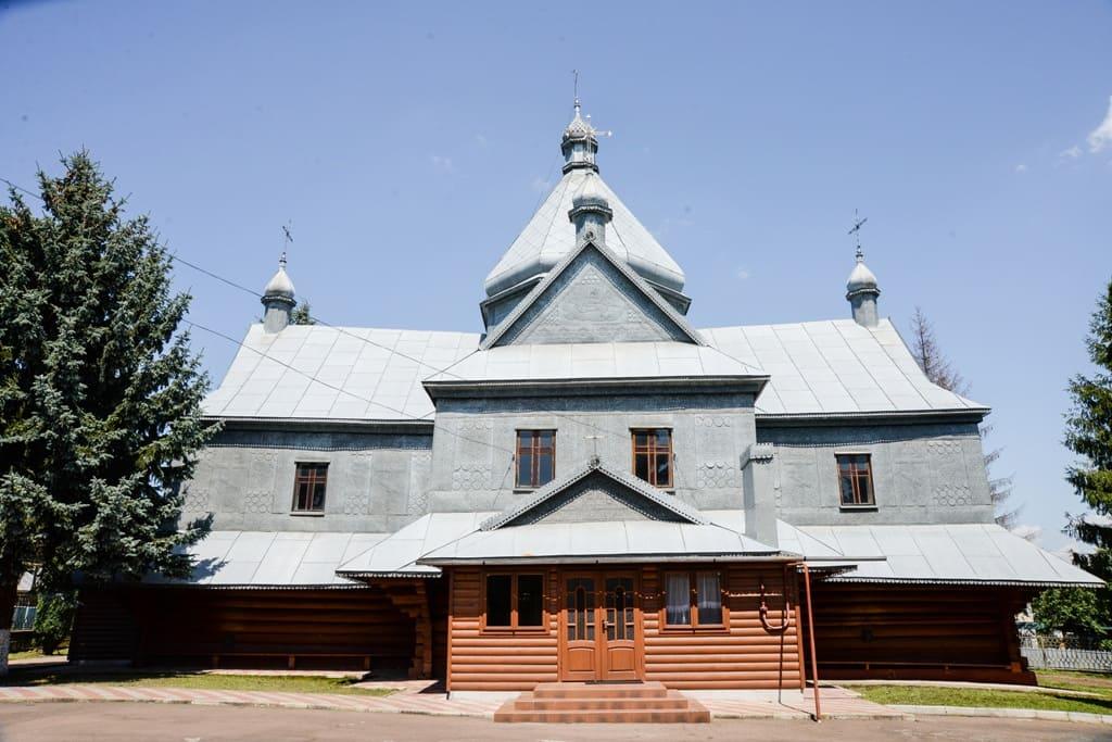 Храм Благовіщення Пресвятої Богородиці села Підгайчики