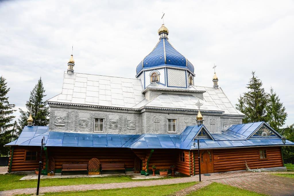 Храм Різдва Пресвятої Богородиці села Малий Ключів