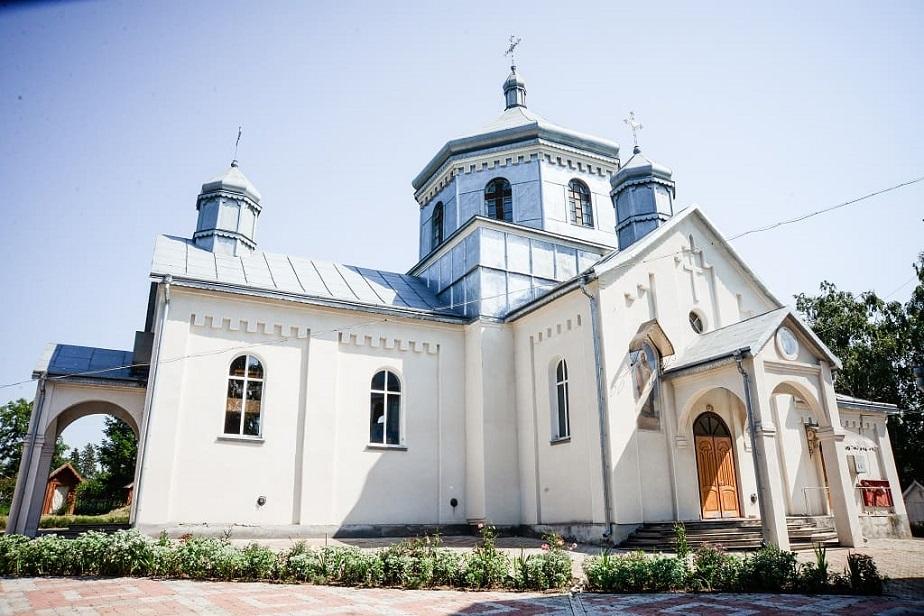 Храм Успіння Пресвятої Богородиці села Джурків