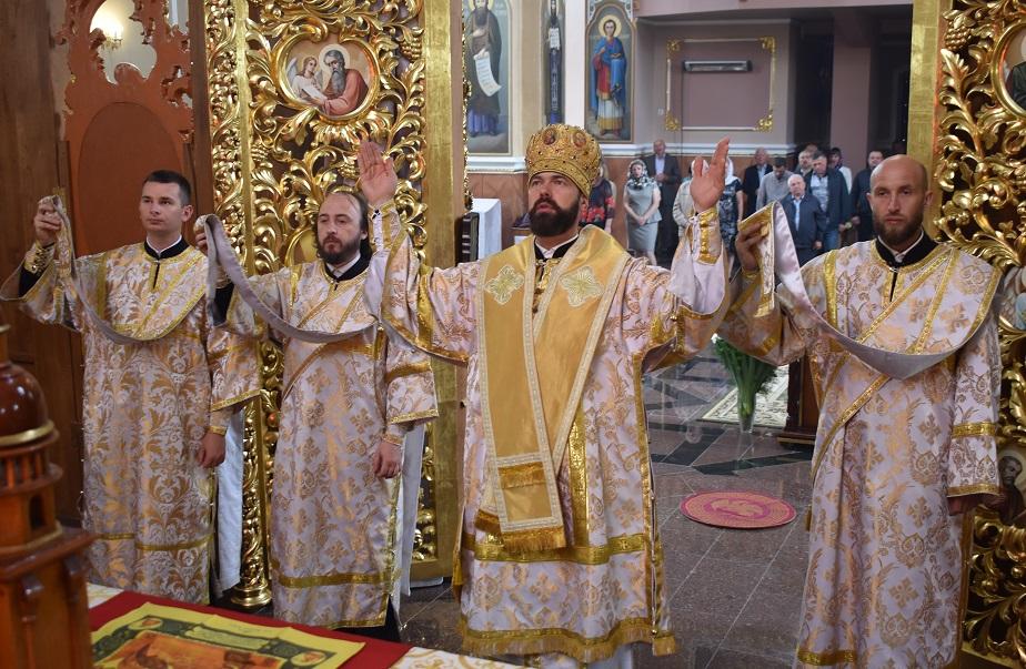 Владика Юліан звершив урочисте богослужіння в неділю всіх святих землі української