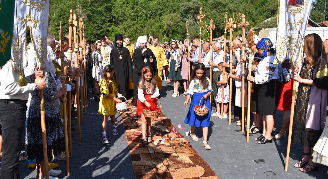 Предстоятель Православної Церкви України звершив освячення нового Храму у селі Мишин