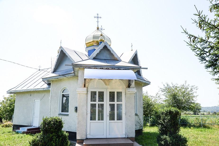 Храм Святого Великомученика Димитрія Солунського села Берем'яни