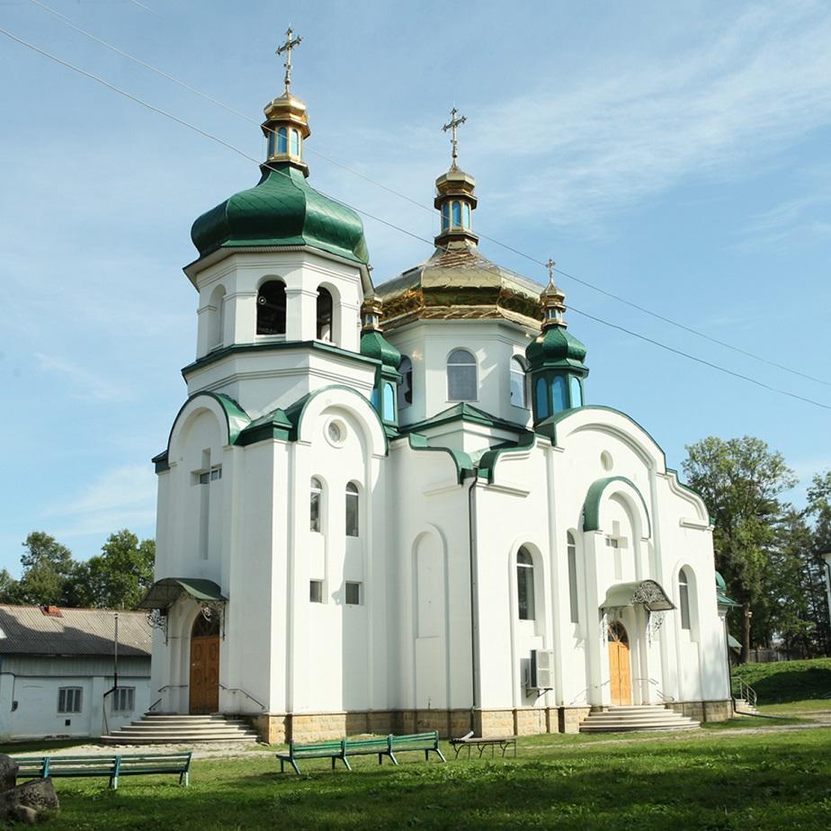 Храм Святого Рівноапостольного князя Володимира  Великого міста Надвірна
