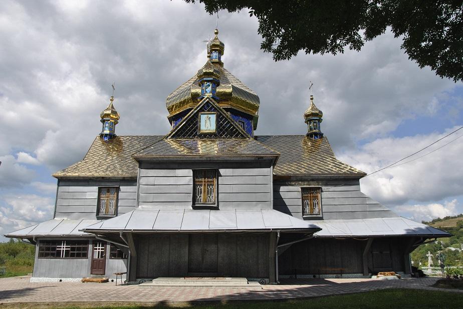 Храм Святителя Василія Великого села Чорні Ослави