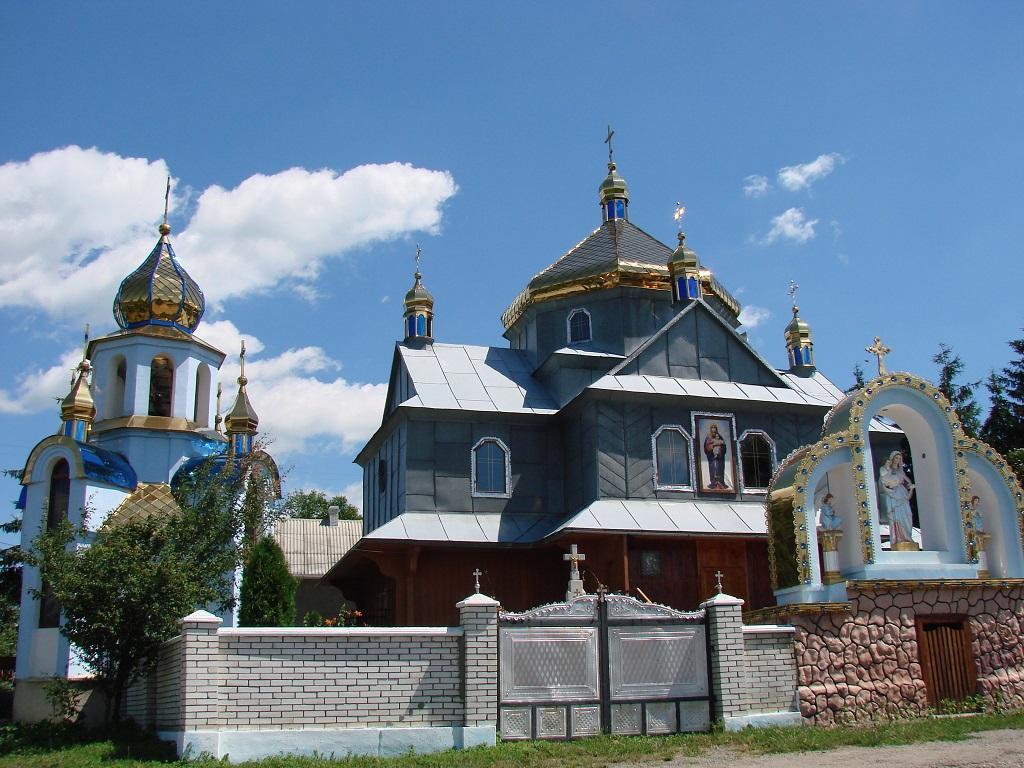 Храм Покрови Пресвятої Богородиці села Олієво-Корнів