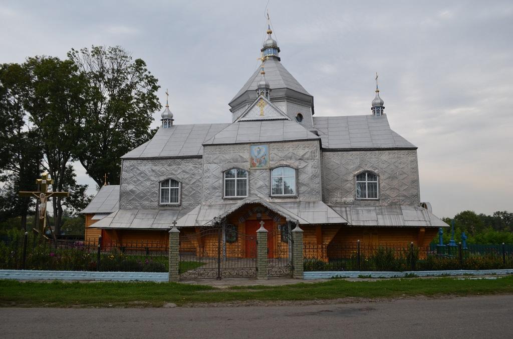 Храм Вознесіння Господнього села Сороки