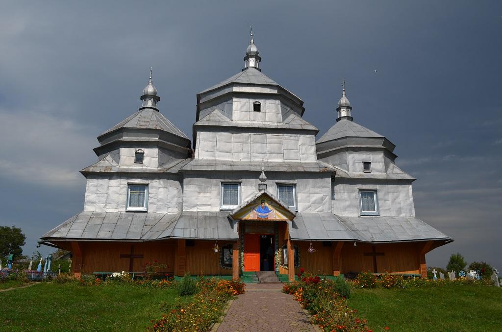 Храм Покрови Пресвятої Богородиці села Слобідка