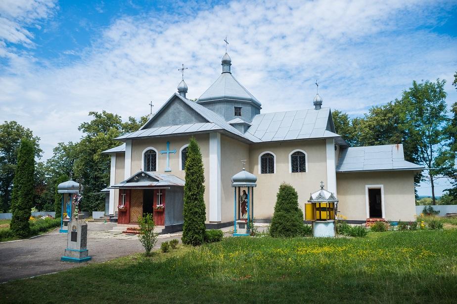 Храм Свт. Миколая Чудотворця села Ліски