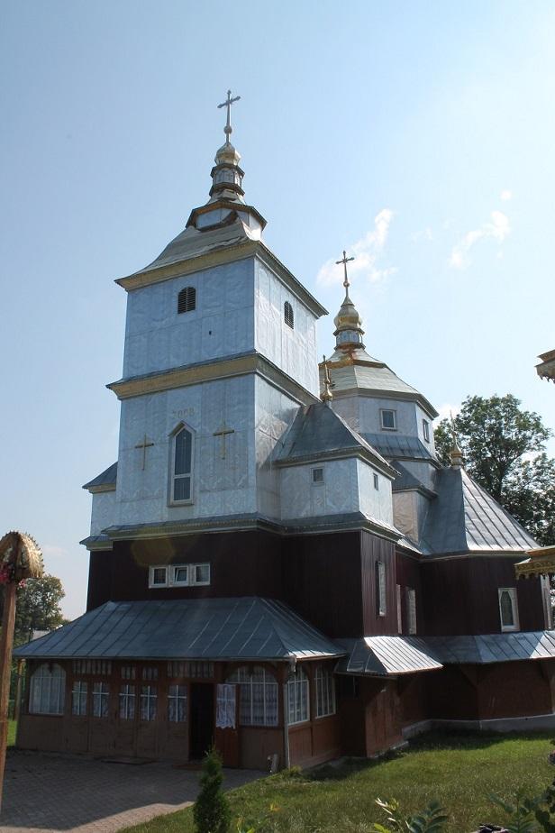 Храм Чуда Архістратига Михаїла села Ланчин