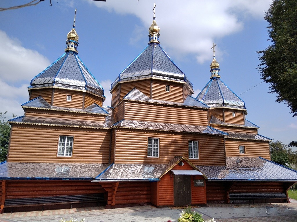Храм Успіння Пресвятої Богородиці села Старий Гвіздець
