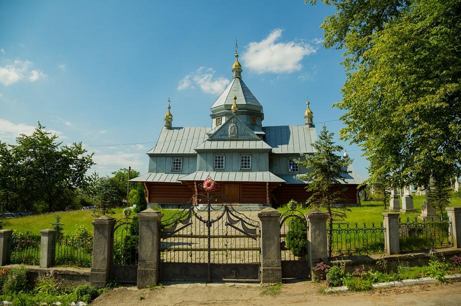 Храм Святого Великомученика Димитрія Солунського села Ковалівка