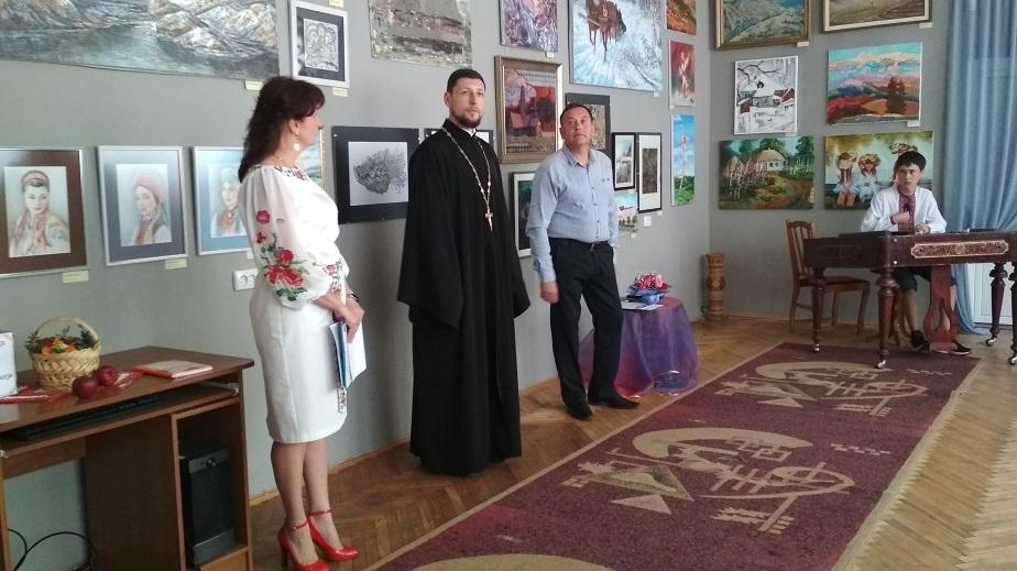 Відкриття виставки живопису від міжнародної асоціації художників України «Я люблю Україну» в місті Коломия