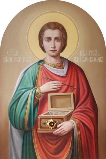 Життя і страждання Святого Великомученика і Цілителя Пантелеймона (9 сeрпня)