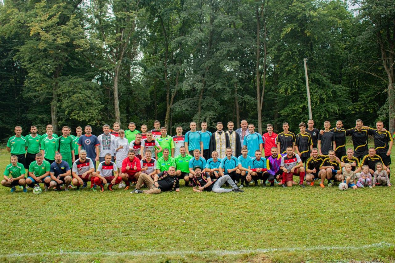 Футбольний турнір між командами Коломийської ОТГ, приурочений 30-й річниці Незалежності України