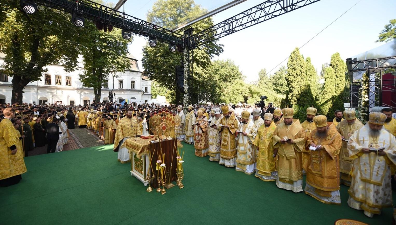Преосвященний Владика Юліан взяв участь в урочистостях з нагоди приїзду в Україну Вселенського Патріарха Варфоломія
