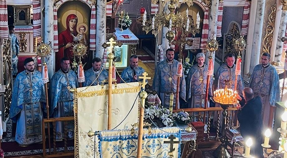 Урочисте богослужіння з нагоди 160-ліття Храму села Слобода