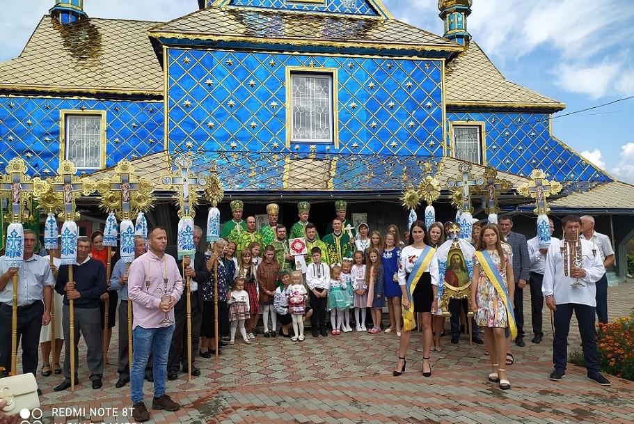 Урочисте богослужіння з нагоди церковного Новоліття у  Храмі села Чорні Ослави
