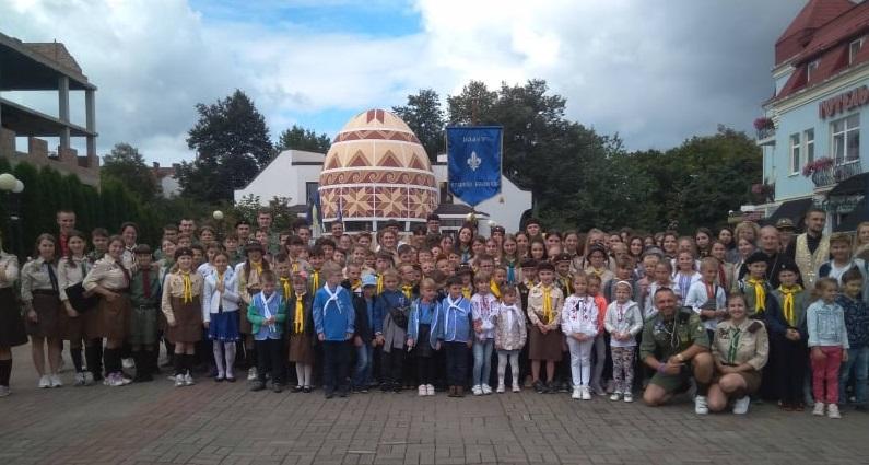 """Урочисте відкриття навчально-виховного року Коломийської станиці Всеукраїнської організації """"Пласт"""""""