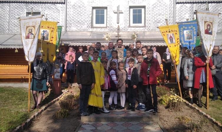 Престольне свято Храму села Цуцулин