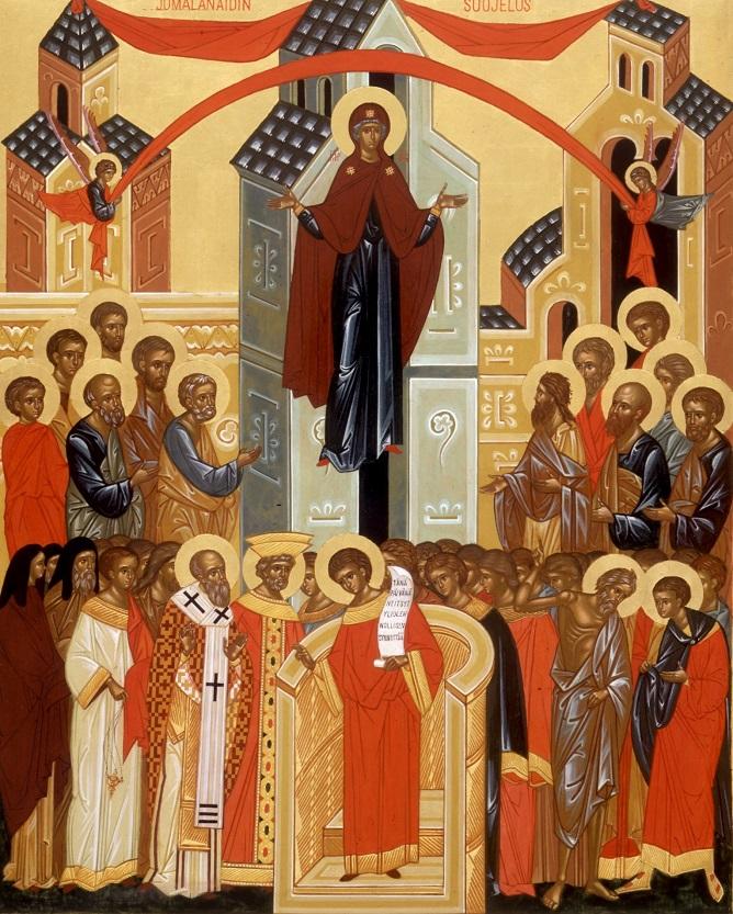 Проповідь на свято Покрови Пресвятої Богородиці